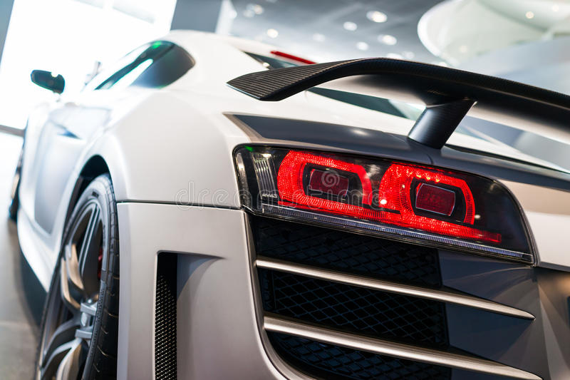 Sporta samochód dla sprzedaży zdjęcie royalty free