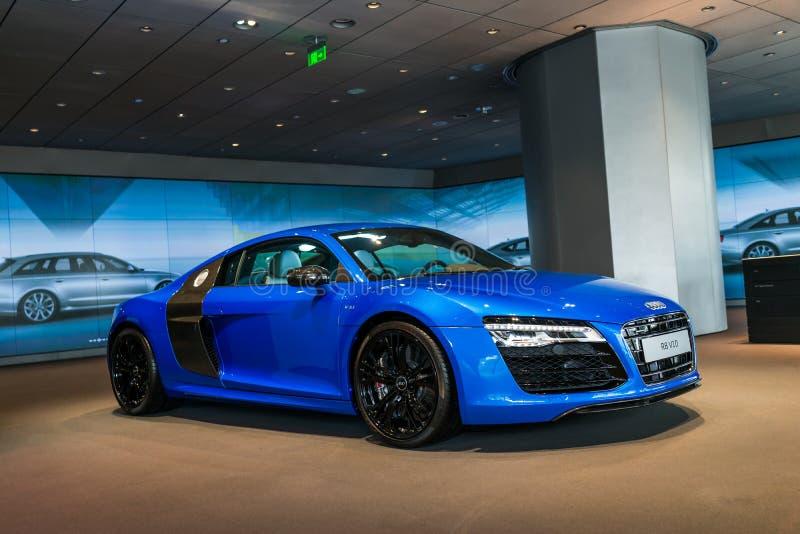 Sporta samochód dla sprzedaży, audi R8 zdjęcie stock