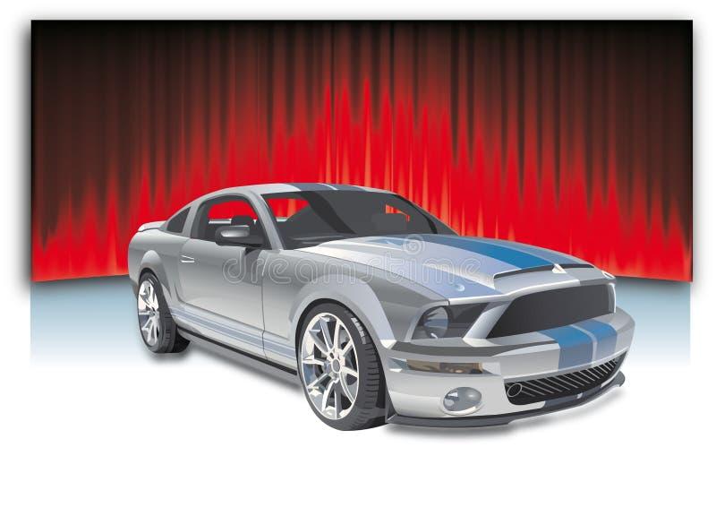 sporta samochodowy wektor royalty ilustracja