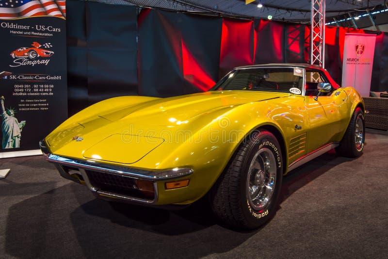 Sporta samochodu Chevrolet korwety Stingray C3 zdjęcia stock