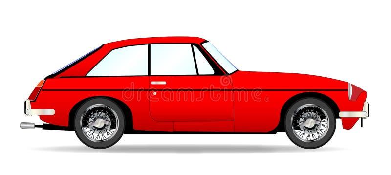 Sporta samochodu Coupe ilustracja wektor