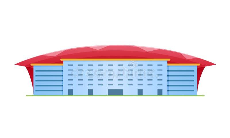 Sporta stadium dla futbolu i olimpiad, arena sportowa royalty ilustracja