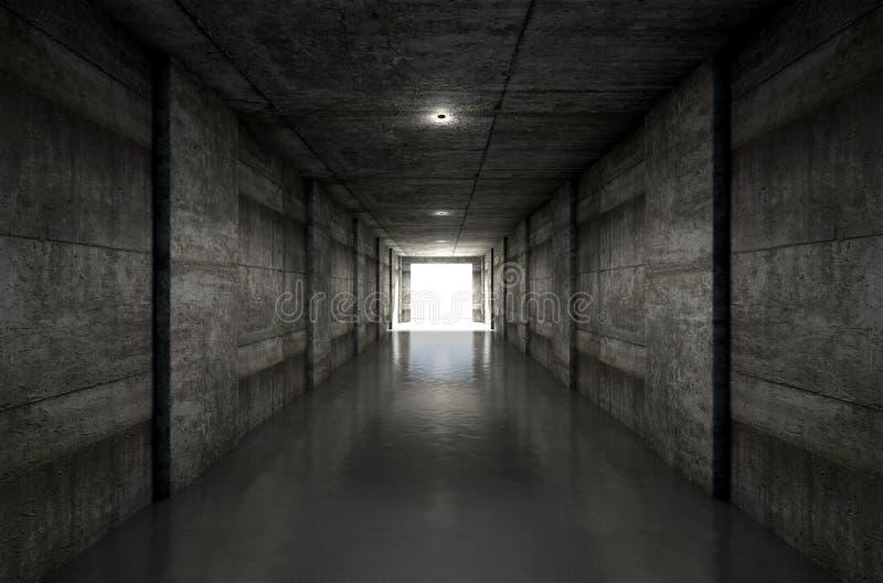 Sporta stadium tunel obrazy stock