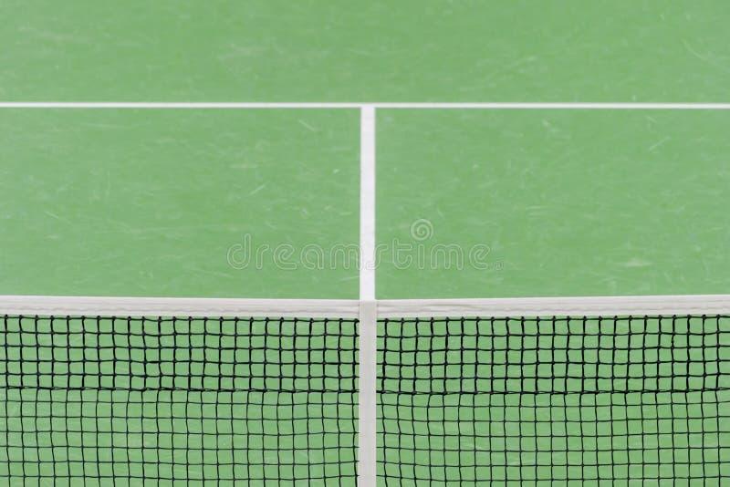 Sporta stylu życia aktywny pojęcie Zbliżenie sieć dla tenisa zdjęcie royalty free