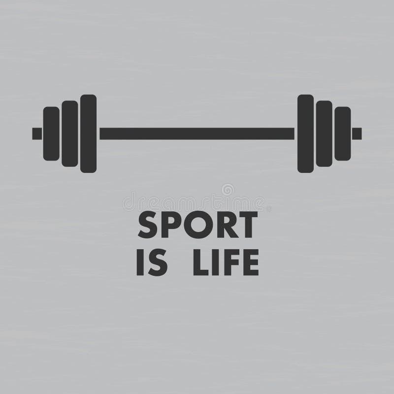 Sporta tło royalty ilustracja
