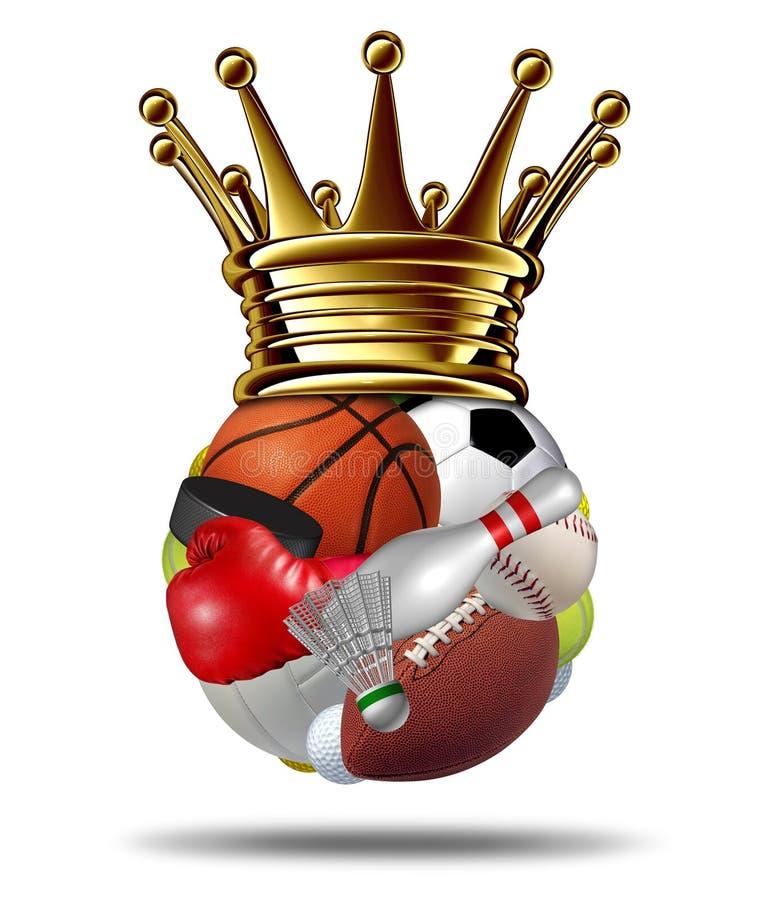 Sporta zwycięzca royalty ilustracja