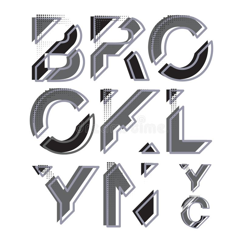 Sportabnutzungs-Typografieemblem New York Brooklyn lizenzfreie abbildung