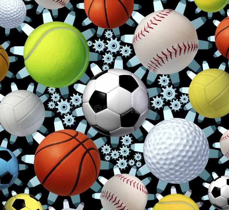 Sportaffär vektor illustrationer