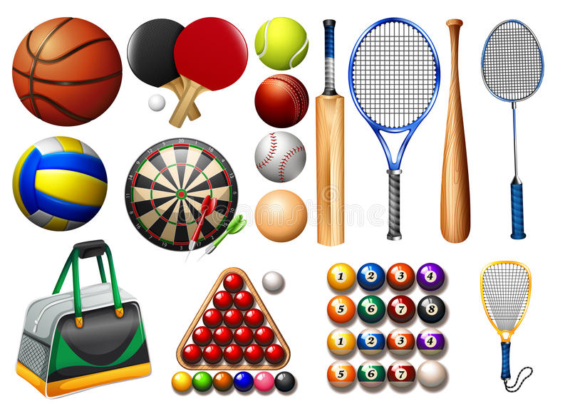 sportar stock illustrationer