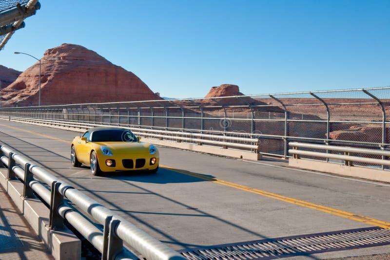 sportar för bilökenhuvudväg fotografering för bildbyråer