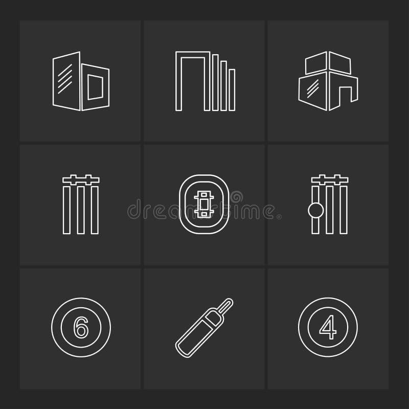 Sportar lekar, atheletes, eps-symboler ställde in vektorn vektor illustrationer