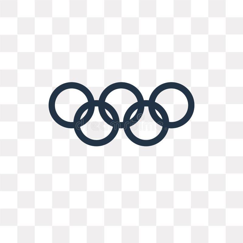 Sportar spelar vektorsymbolen som isoleras på genomskinlig bakgrund, Spo vektor illustrationer