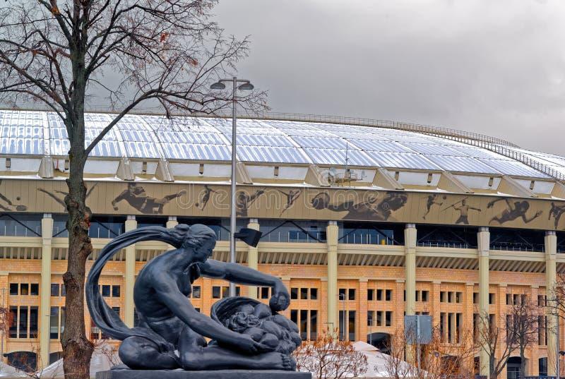 Sportarena des olympischen komplexen Luzhniki lizenzfreie stockbilder
