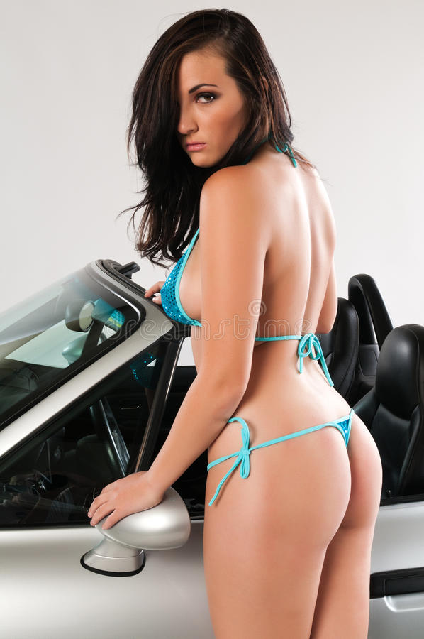 Sportauto stockbilder