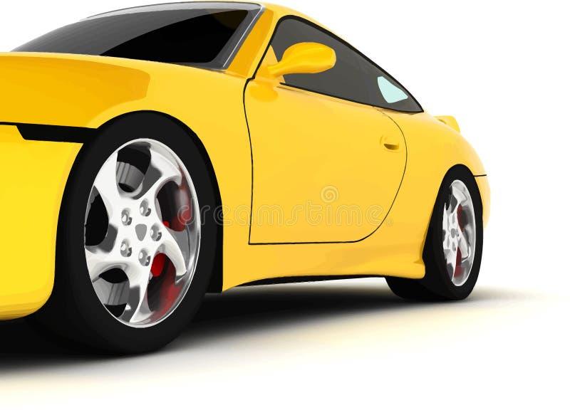 Sportauto lizenzfreie abbildung