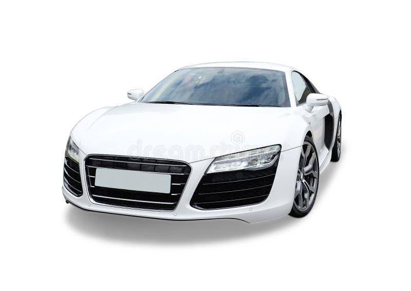 Sportauto Audis R8 stock abbildung