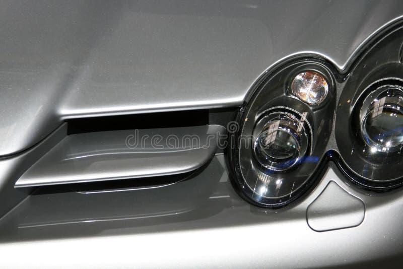 Sportauto-Lufteintritt lizenzfreie stockfotos