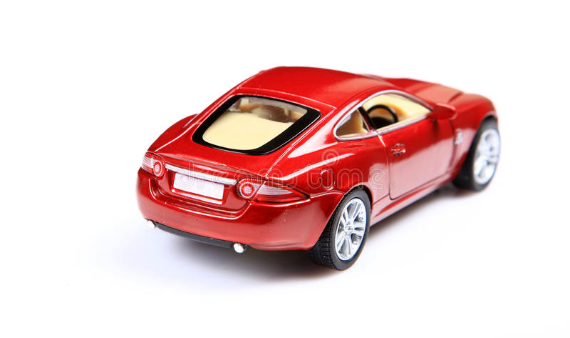Sportauto-Rückseitenansicht stockfotos