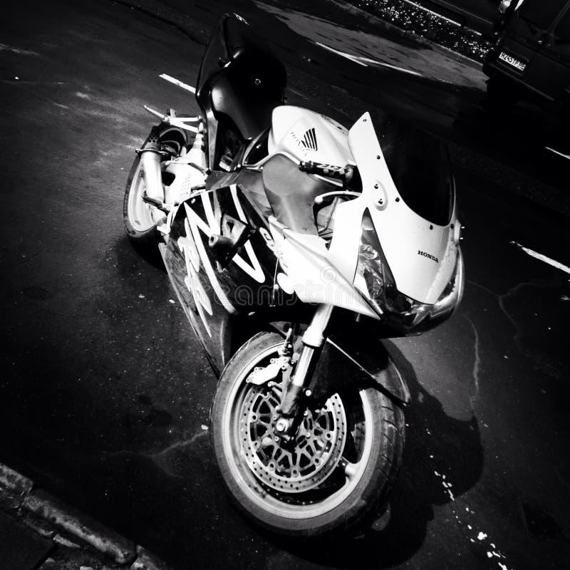 Sportbike de Honda photo libre de droits
