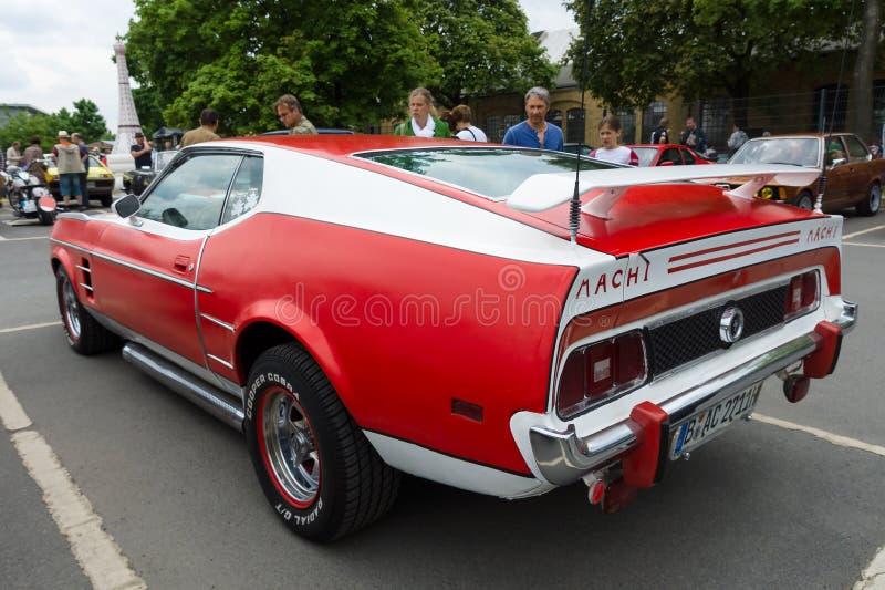 Sportbil Ford Mustang Mach I royaltyfria bilder