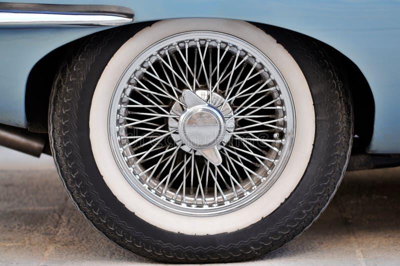 Sportbilhjul royaltyfria foton