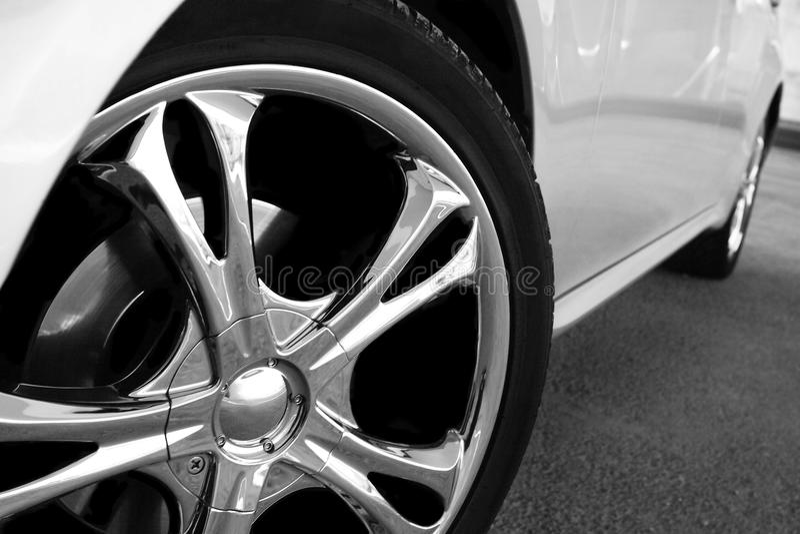 Sportcar royalty-vrije stock afbeelding