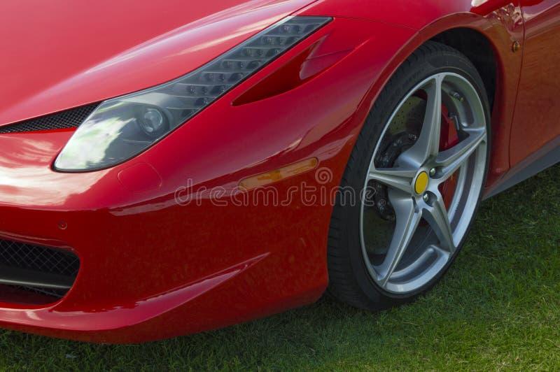 Sportcar italia foto de stock royalty free