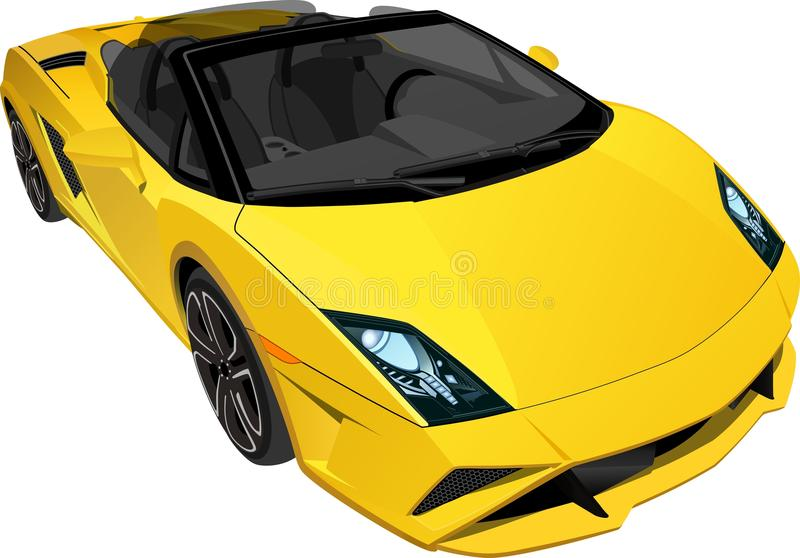 SportCar 1 royalty free stock image