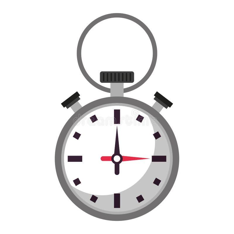 Sportchronometersymbol lokalisierte stock abbildung