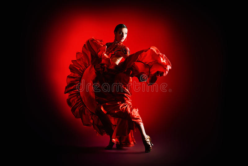 Sportdanser royalty-vrije stock afbeeldingen