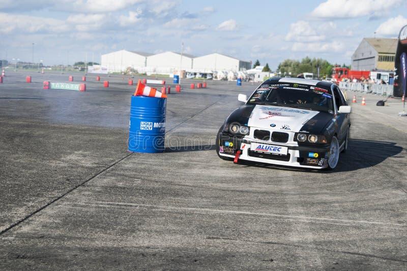 Sporten BMW stock fotografie