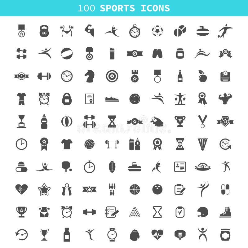 Sporten een pictogram royalty-vrije illustratie