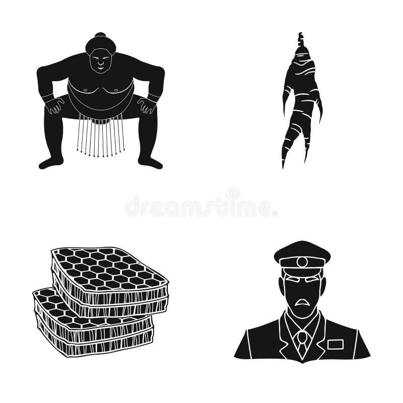 Sporten, voeding, delicatessen en ander Webpictogram in zwarte stijl militair, GLB, het luisteren, pictogrammen in vastgestelde i royalty-vrije illustratie