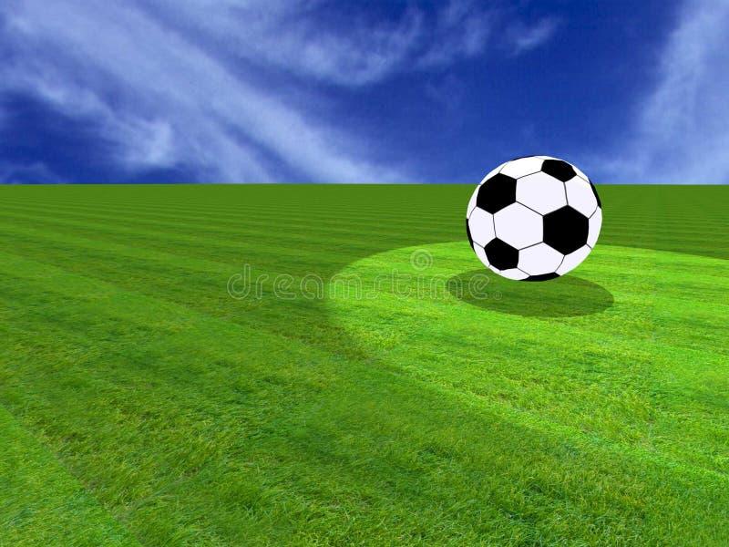 Sporten: voetbal royalty-vrije stock afbeeldingen