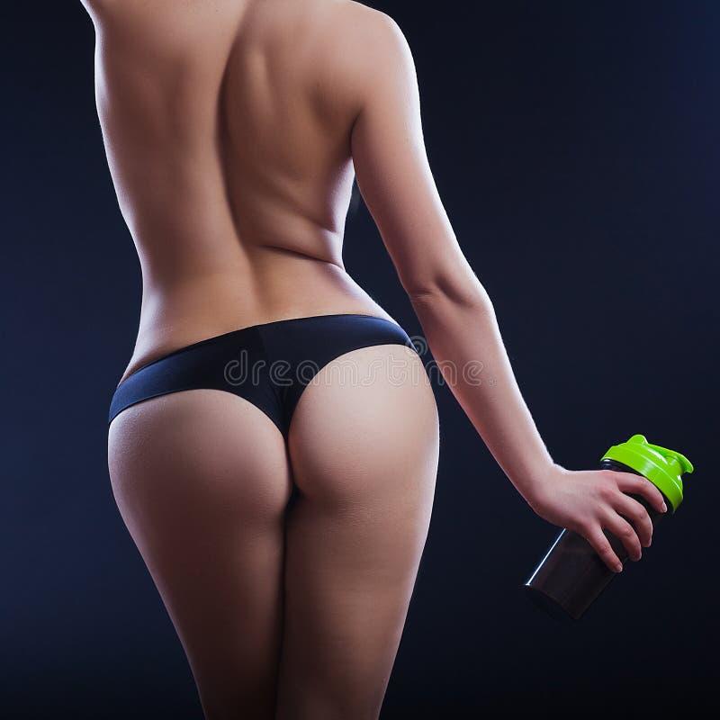 Sportenmeisje royalty-vrije stock afbeeldingen