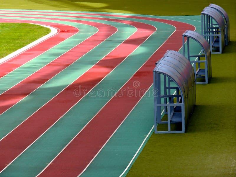 Sportenstadion voor nationaal en internationale bijeenkomsten stock foto