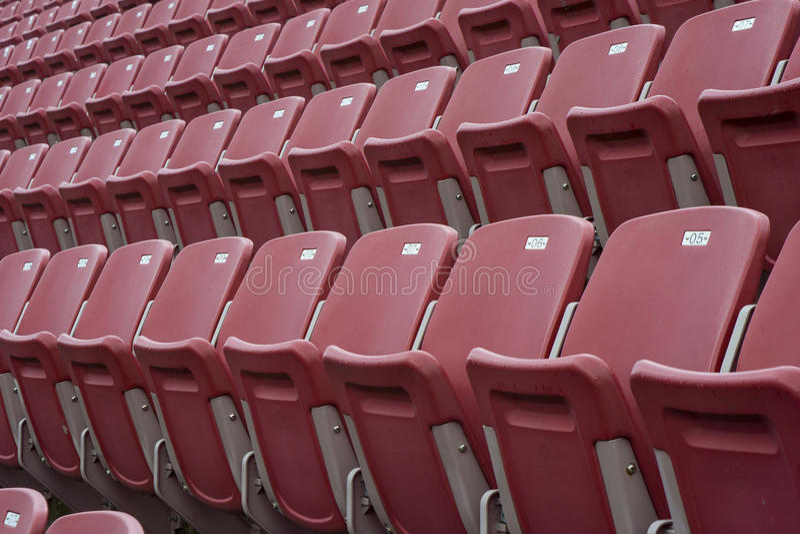 Sportevenement Leeg Stadion stock fotografie