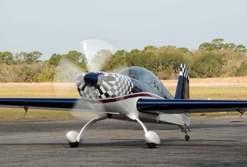 Sportflugzeug lizenzfreies stockbild