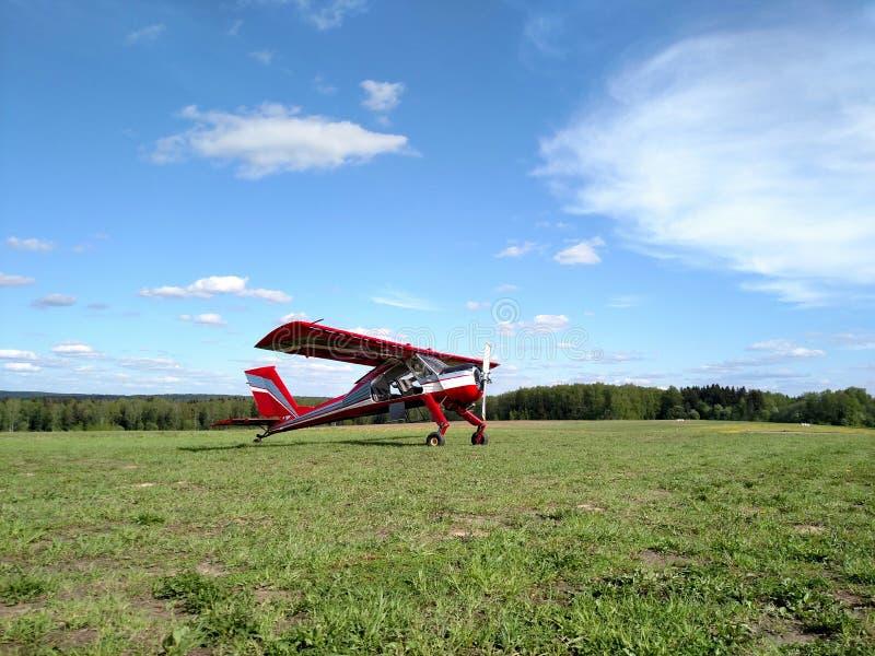 Sportflugzeug lizenzfreie stockfotografie