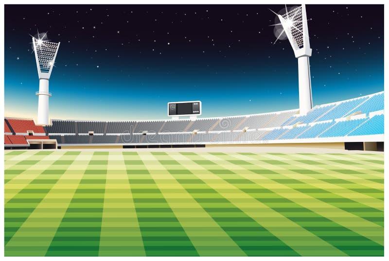 Sportief stadion stock illustratie