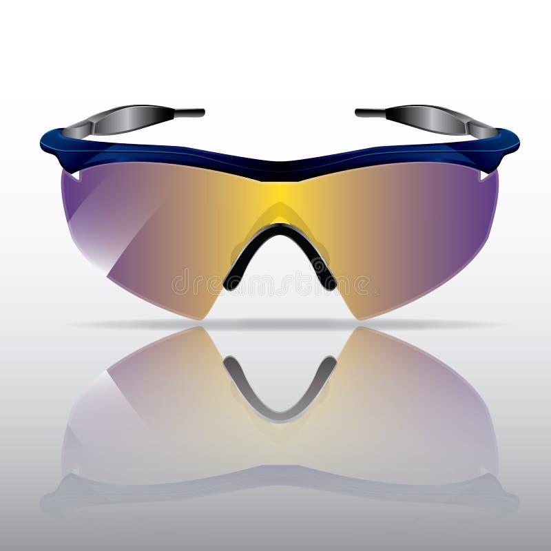 Sportieve Zonnebril stock foto