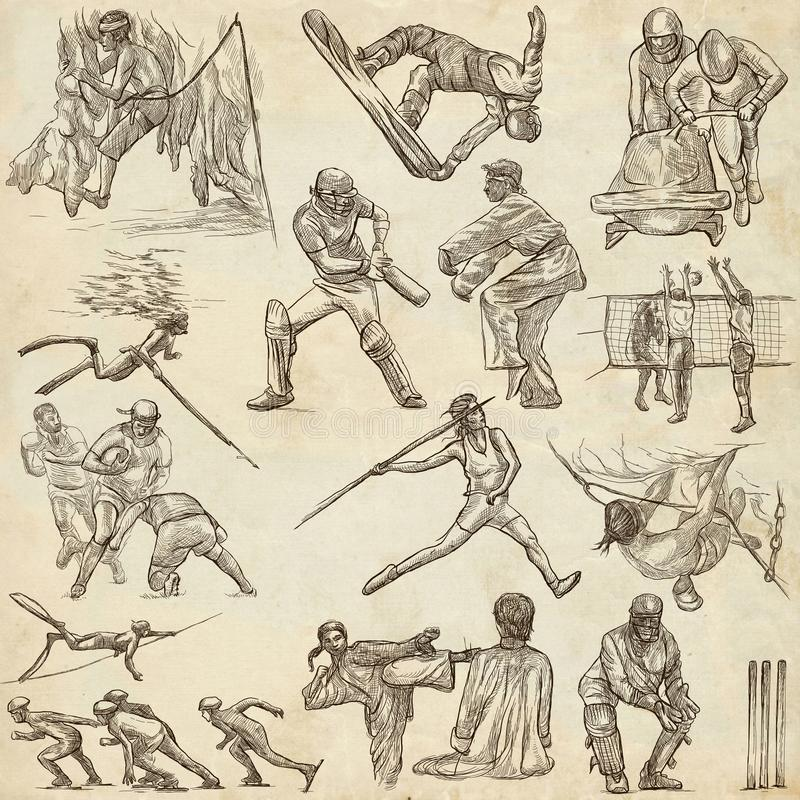 Old Martial Art Drawing And Sayings