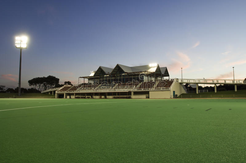Download Sporting Field & Grandstand Stock Image - Image: 25523841