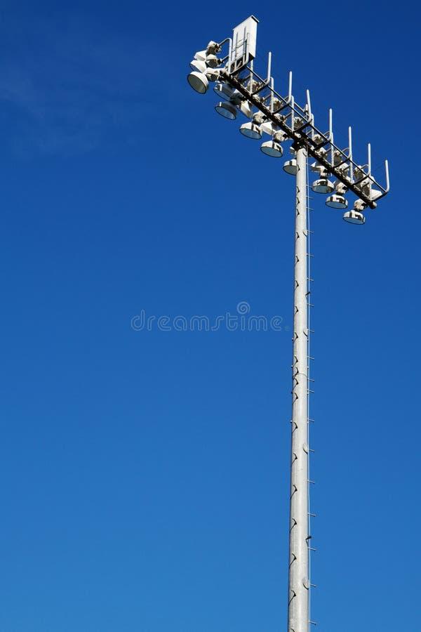 Sporting Field Lights Stock Image