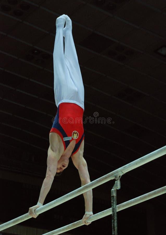 Sporting gymnastics