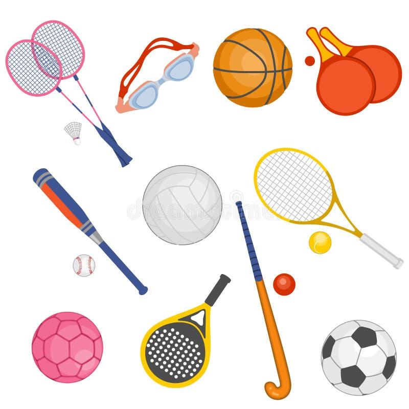 Download Sporting stock illustration. Image of basebal, handball - 30430278