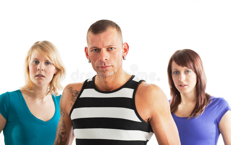 Download Sportive people stock image. Image of isolated, muscular - 9180335