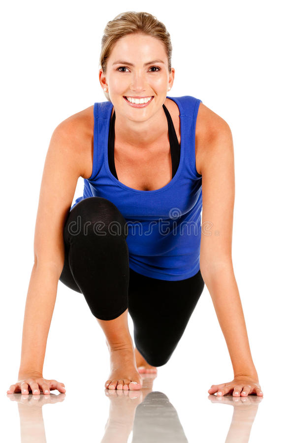 Download Sportive woman stock image. Image of thin, adult, sportswear - 18692773