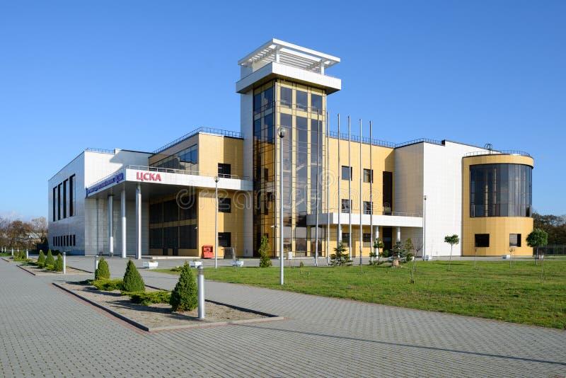 Download Sportkomplex CSKA redaktionell arkivfoto. Bild av komplicerat - 37344323