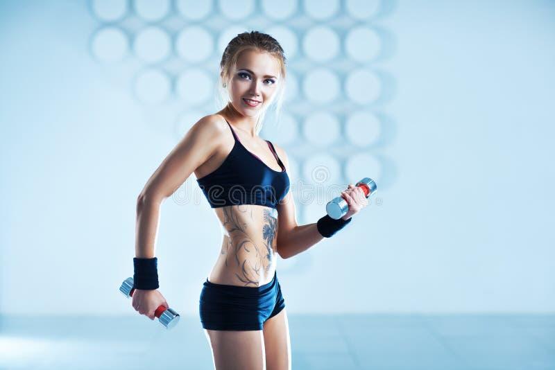 Sportkvinnautbildning arkivbilder